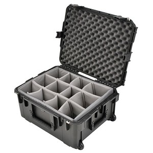 SKB iSeries 2217-10 Wheeled Waterproof Case w/ Dividers – 22x17x10