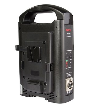 Swit 2-ch V-mount Battery Charger and Adaptor - S-3802S