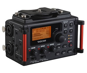 TASCAM DR-60DmkII Four-Channel Portable Audio Recorder for DSLRs