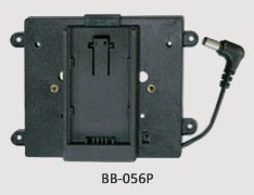 TVLogic BB-056P: Panasonic 'CGA' Battery Bracket for VFM-056 Monitors