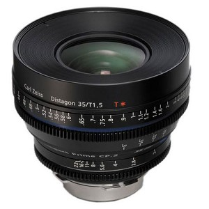 Zeiss CP.2 35mm/T1.5 Super Speed Lens - feet - EF Mount - 1916-642