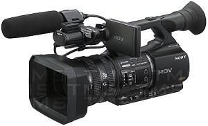 Sony HVR-Z5U HDV High Definition Handheld Camcorder DEMO