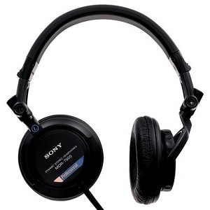 Sony MDR7505 Closed-Ear Professional Folding Headphones